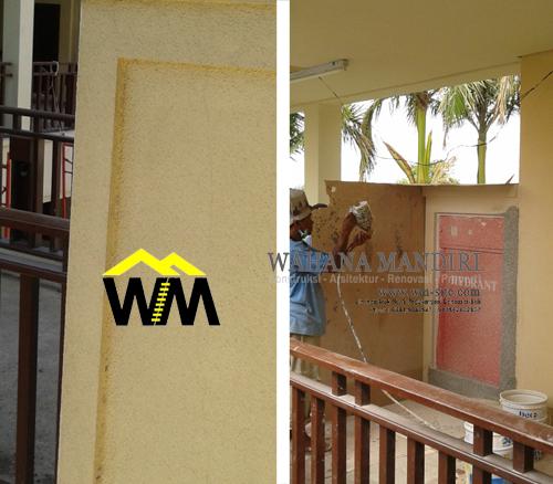 Dinding tekstur sebagai alternatif tampilan rumah berkesan alami