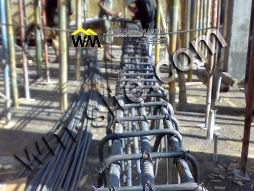 Penggunaan Besi Tulangan pada Beton